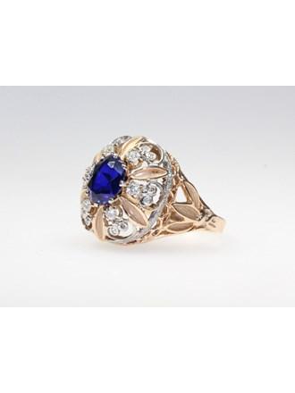 Перстень  Золото 585  Бриллианты