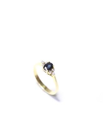 """Кольцо Золото 585"""" Цирконы"""