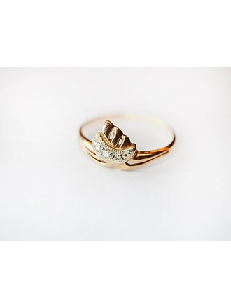 "Кольцо с бриллиантами Золото 585"""