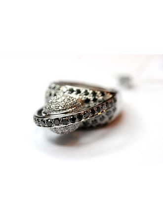 Кольцо Золото 585, Бриллианты