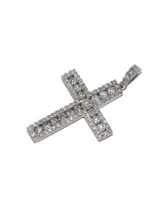 "Крест Золото 750"" Бриллианты"