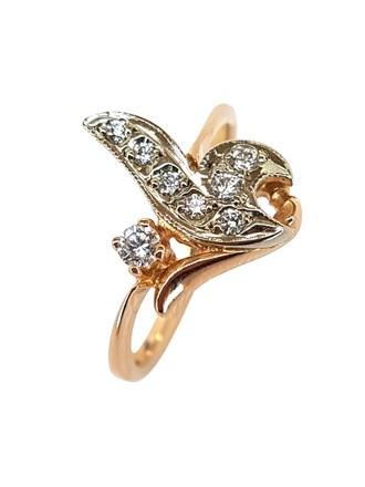Кольцо с природным камнем