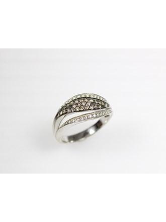 Кольцо с бриллиантами. Золото 585