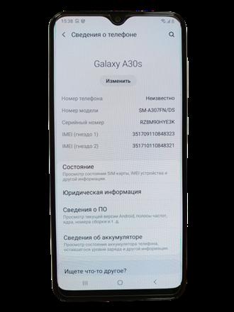 Смартфон Samsung Galaxy A30s