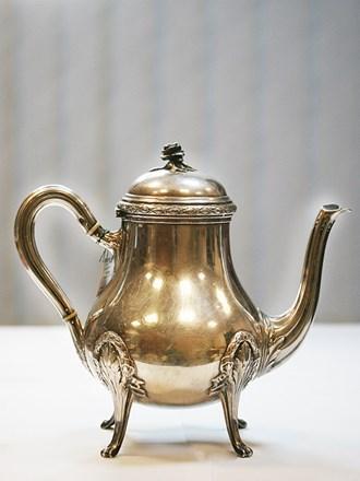 "Чайник Серебро 925"""