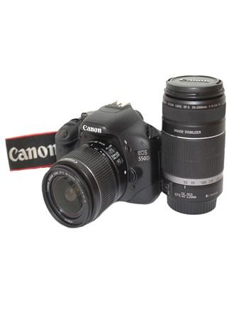 Фотоаппарат CANON EOS 550D 2 Объектива