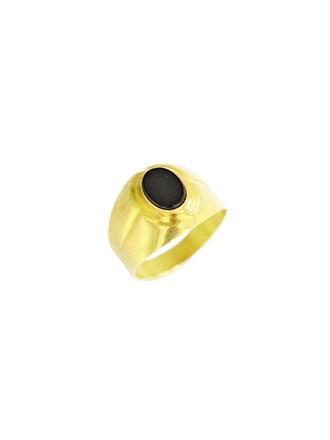 """Кольцо Золото 750"""" Агат"""