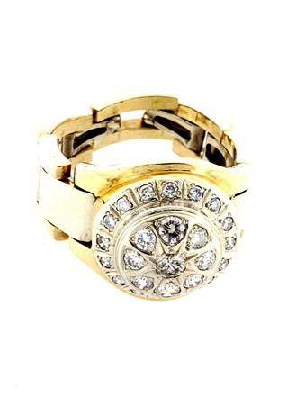Перстень Бриллиантовые вставки