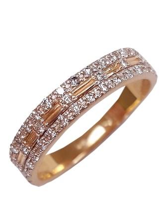 Кольцо с бриллиантами, золото