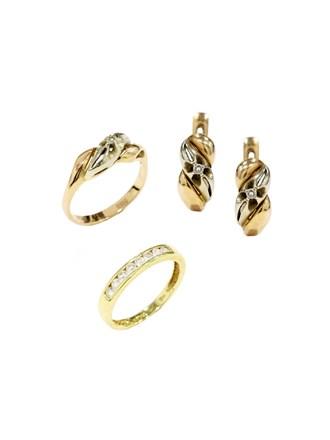 """Кольца Серьги Золото 750"""" 585"""" Бриллианты"""