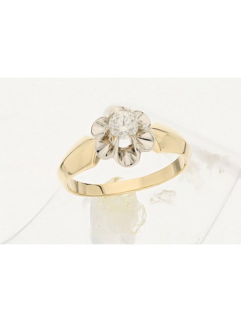 Кольцо золото, 750