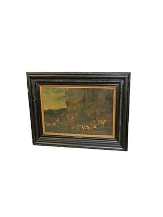 Картина Масло Холст Размер 95x120 см
