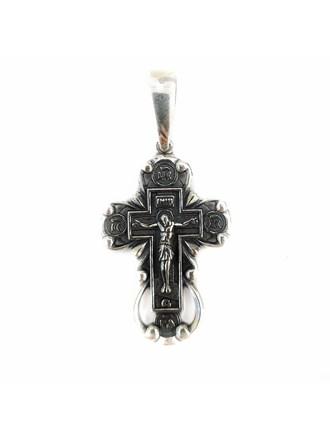 Крест серебро 925 проба