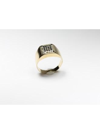 Печатка Золото 585 Фианиты