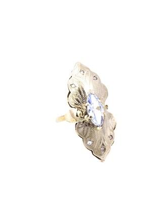 "Кольцо Золото 585"" Бриллианты Топаз"