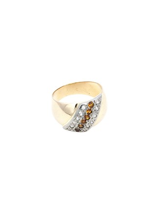 "Кольцо Золото 583"" Бриллианты"