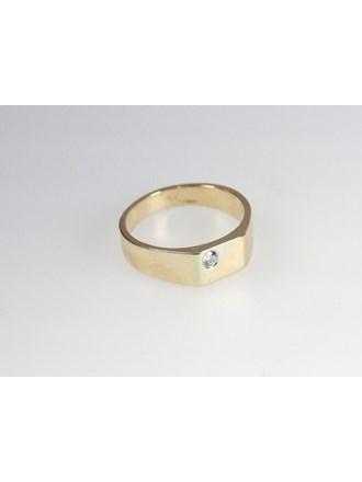 """Печатка Золото 585"""" Бриллиант"""
