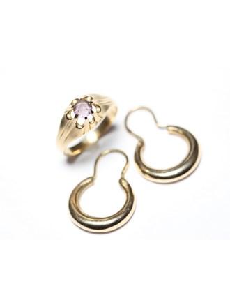 Ювелирные украшения Золото 583 Фианиты