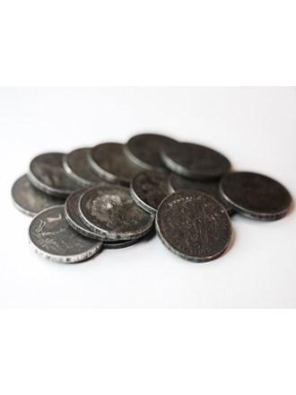 14 серебряных монет