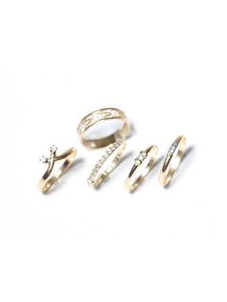 """Набор ювелирных изделий Золото 585"""" Бриллианты Фианиты"""