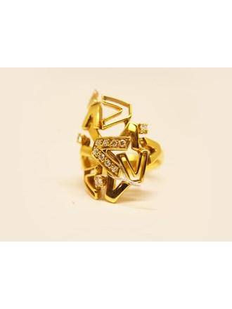 Кольцо VERSACE Золото 750