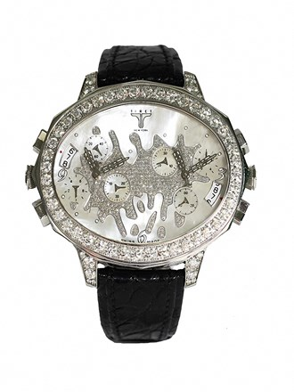 Часы TIRET Сталь Бриллианты