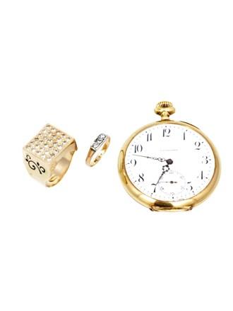 """Ювелирные украшения Золото 585"""" 583"""" Бриллианты Часы карманные Золото 585"""""""