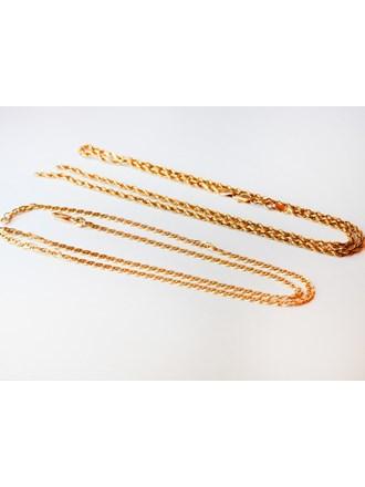 Цепочки Золото 585 Плетение веревочка порвана