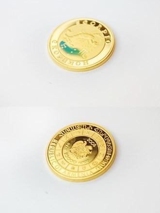 Монета Золотая 900