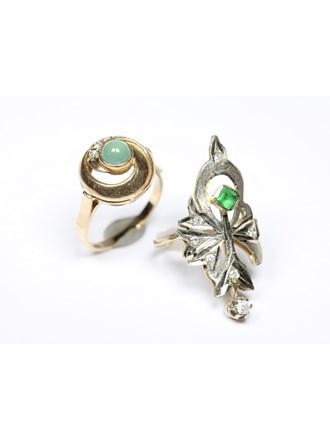 Кольца Золото 585 Фианиты