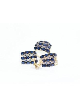 """Кольцо Серьги Золото 585"""" Бриллианты Фианиты"""