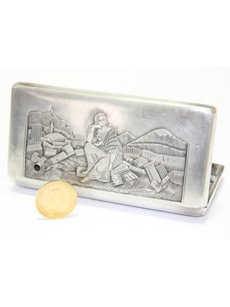"Кошелек Монета Серебро 84"" Золото 900"""