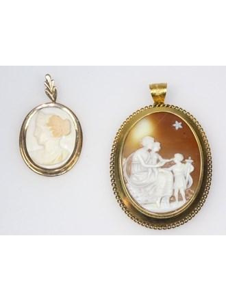 Ювелирные украшения Золото 585 Камеи