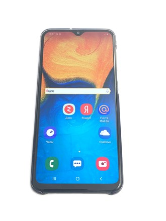 Телефон Samsung Galaxy A20 (2019)