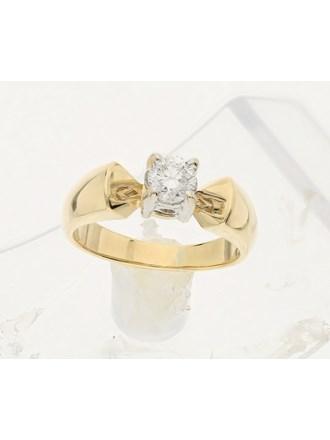 Кольцо золото, 750,