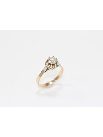 """Кольцо Золото 583"""" Бриллиант"""