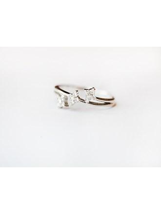 "Кольцо с бриллиантами Золото 750"""