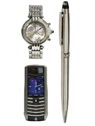 Часы KORLOFF Ручка CHOPARD Телефон VERTU