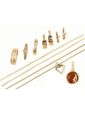 """Ювелирные украшения Золото 583"""" Фианиты"""
