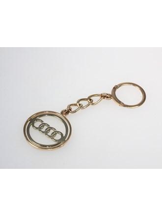 "Брелок ""Audi"". Золото 585."