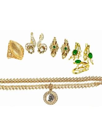 """Ювелирные украшения Золото 750"""" 585"""" Бриллианты Изумруды"""