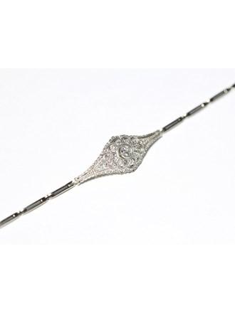 """Браслет Золото 585"""" Бриллианты Алмазные розы"""