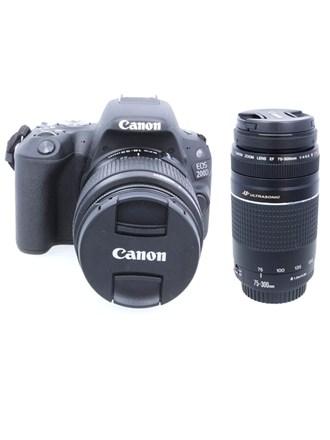 Фотоаппарат Canon EOS 200D