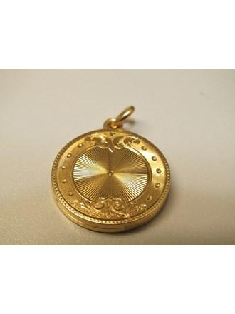 Медальон золото 500