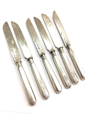 Набор фруктовых ножей 84 пробы