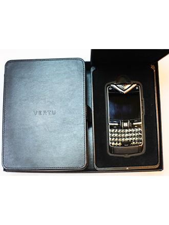 Телефон VERTU в коробке, полный комплект