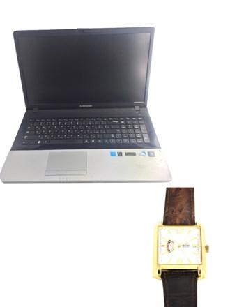 Часы Orient и ноутбук Samsung