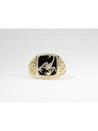 Печатка Золото 585 Агат