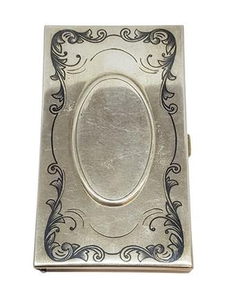 Столовое серебро, визитница
