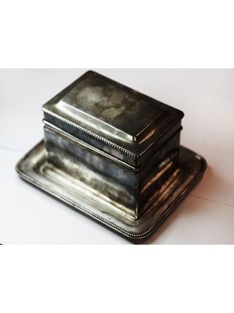 Поднос и шкатулка Серебро Столовое 800